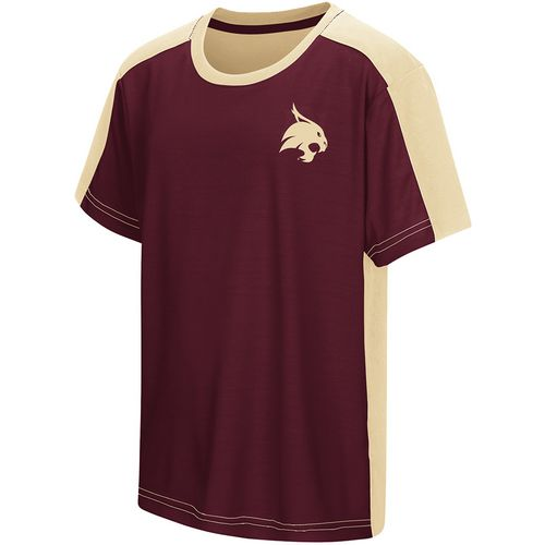 Colosseum Athletics Boys' Texas State University Short Sleeve T-shirt