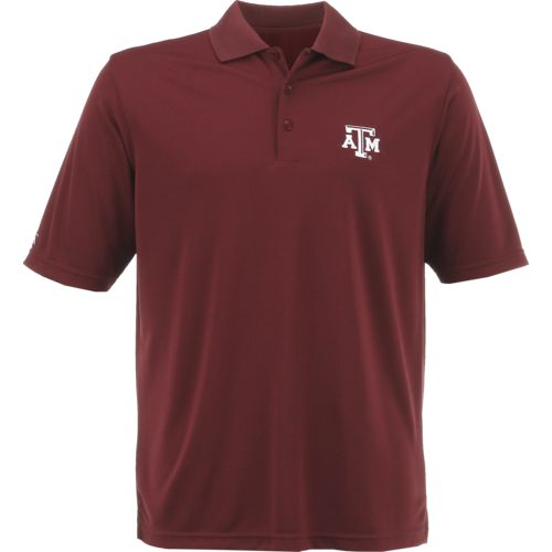 Antigua Men's Texas A&M University Exceed Polo Shirt