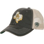 Top of the World Men's Baylor University United 2-Tone Adjustable Cap - view number 2