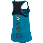 5th & Ocean Clothing Women's Jacksonville Jaguars Glitter Tank Top - view number 2