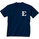 New World Graphics Women's East Tennessee State University Comfort Color Initial Pattern T-shirt - view number 2