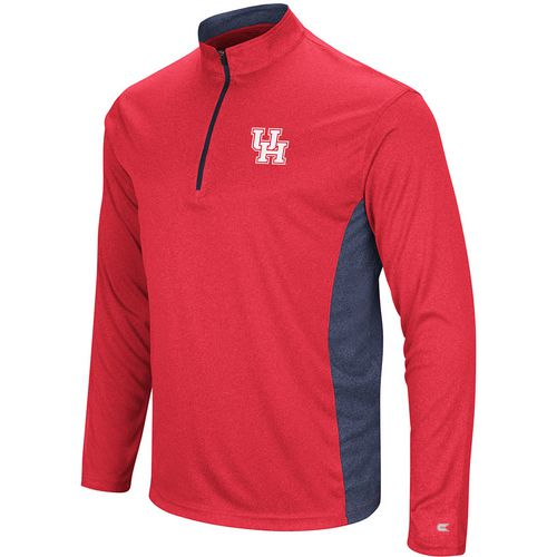 Colosseum Athletics Men's University of Houston Audible 1/4 Zip Windshirt
