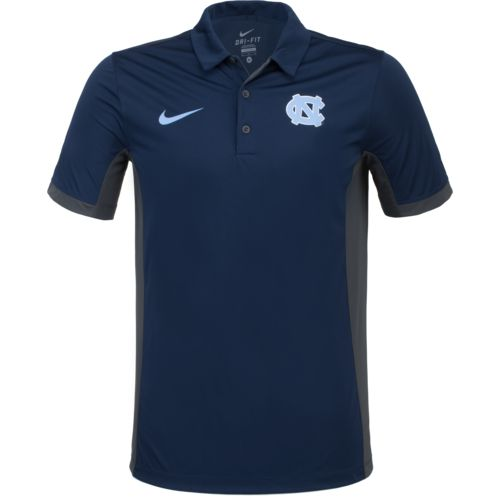 Nike Men's University of North Carolina Dri-FIT Evergreen Polo Shirt