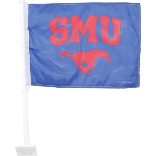 Rico Southern Methodist University Car Flag - view number 1