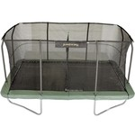 Jumpking 10 ft x 15 ft Rectangular Trampoline and Enclosure Combo - view number 2