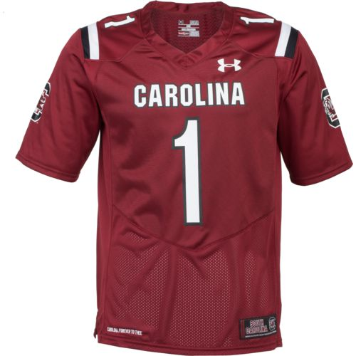 Under Armour Men's University of South Carolina Replica Home Football Jersey