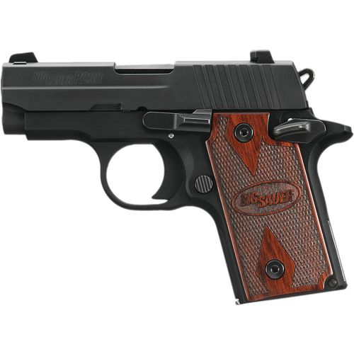 SIG SAUER P238 Rosewood Micro-Compact .380 ACP Semiautomatic Pistol