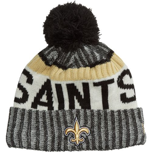 New Era Men's New Orleans Saints Onfield Sport Knit Cap