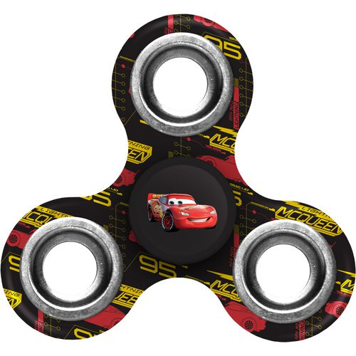 Forever Collectibles Disney Cars Lightning McQueen Diztracto Spinner