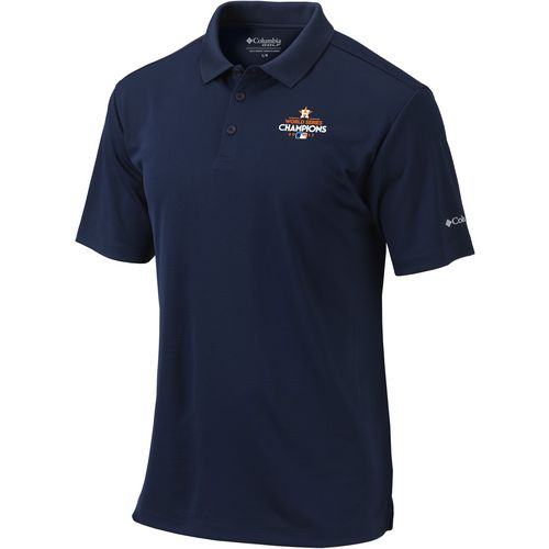Columbia Sportswear Men's Astros World Series Champions Round One Polo