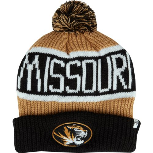 '47 University of Missouri Calgary Cuffed Knit Pom Cap