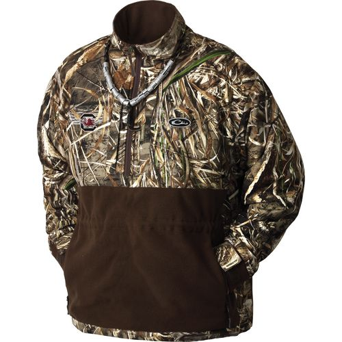 Drake Waterfowl Men's University of South Carolina Eqwader 1/4-Zip Pullover