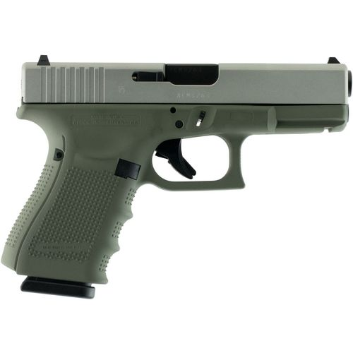 GLOCK G19 Gen4 Forest Green 9mm Pistol - view number 1