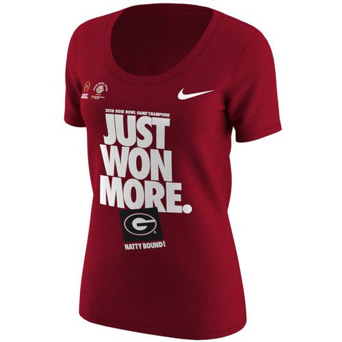 Nike Women's University of Georgia Rose Bowl Champs Short Sleeve T-shirt