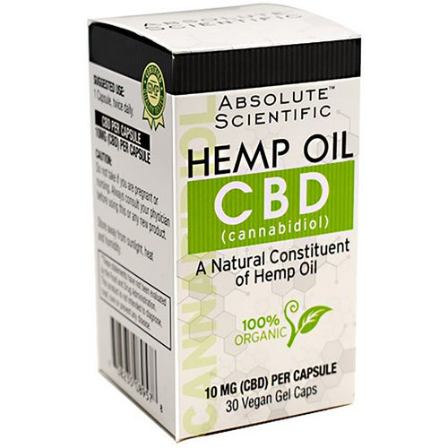 Absolute Nutrition CBD Hemp Oil Capsules