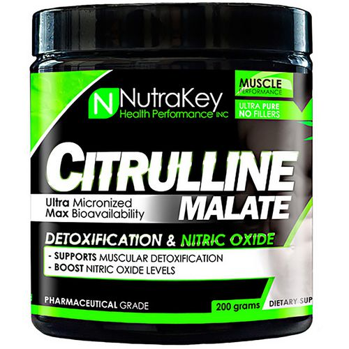 NutraKey Citrulline Malate Powdered Supplement