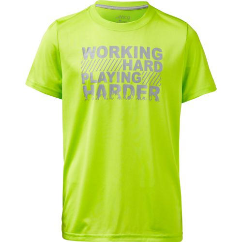 BCG Boys' Working Hard Short Sleeve T-shirt