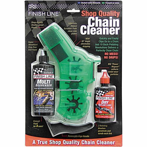 Finish Line Bicycle Chain Cleaner Kit