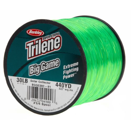 Display product reviews for Berkley® Trilene Big Game 1/4 lb. Fishing Line