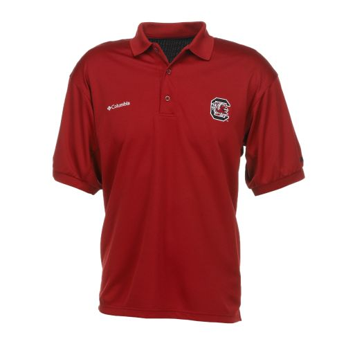 Columbia Sportswear Men's Collegiate Perfect Cast™ University of South Carolina Polo