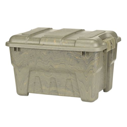 Image for Great Solutions Lok-N-Stor 38 qt. Camo Storage Tote from Academy