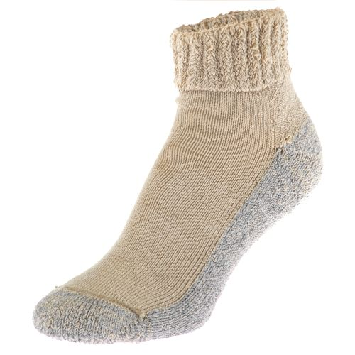 Display product reviews for Diabetic Care Adults' Nonbinding Antimicrobial Quarter Socks