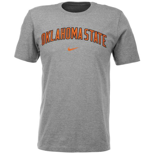 Nike Men's Oklahoma State University Short Sleeve Classic Arch T-shirt