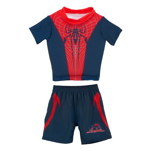 SwimWays Boys' Marvel Deluxe Swim Shorty Set