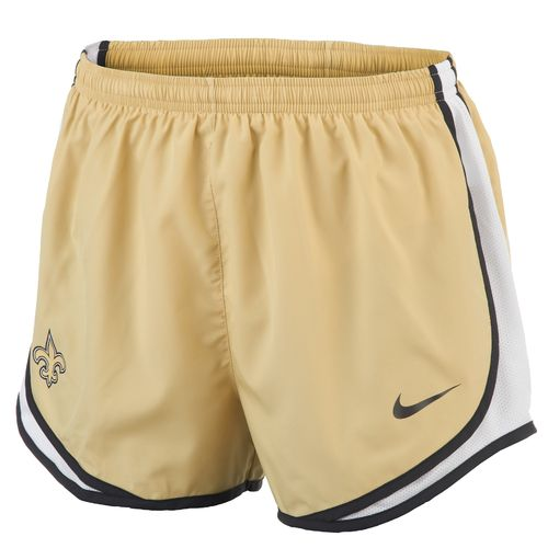 Nike Women's New Orleans Saints Tempo Short