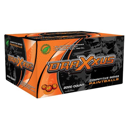 X-Ball Blaze Competition Paintballs 2,000-Pack