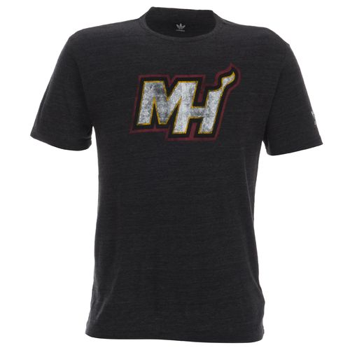 adidas Men's Miami Heat Bigger Better Logo T-shirt
