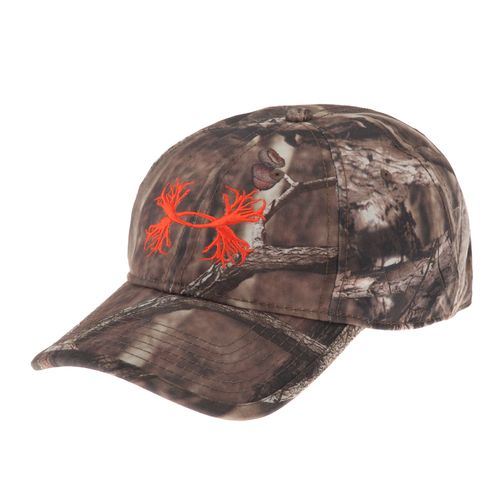 Under Armour® Men's Camo Antler Logo Cap