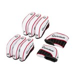 TaylorMade White Irons Set 4 Iron - Pitching Wedge Headcovers