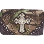 Realtree Women's APG Camo Cross Wallet