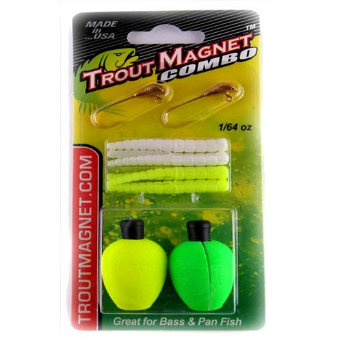 Display product reviews for Trout Magnet 8-Piece Combo Pack
