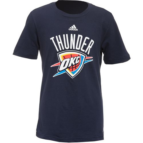 adidas Boys' Oklahoma City Thunder Primary Logo T-shirt