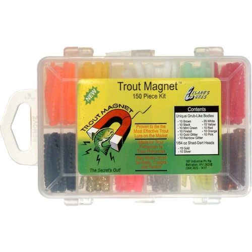 Display product reviews for Trout Magnet 152-Piece Lure Kit