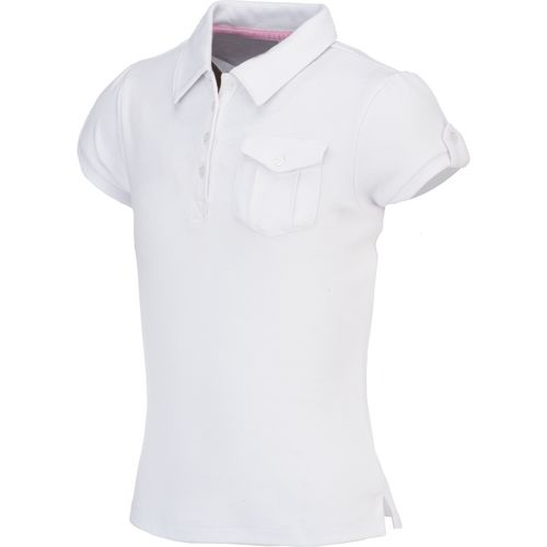 Display product reviews for Austin Trading Co. Girls' Uniform Short Sleeve Self Collar Military Polo Shirt