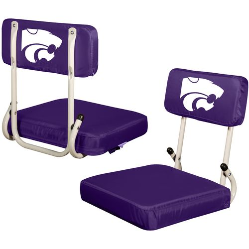 Logo Chair Kansas State University Hard Back Stadium