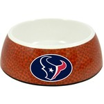 GameWear Houston Texans Classic NFL Football Pet Bowl