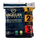 Magellan Outdoors™ Men's Base Layer Pants 3-Pack