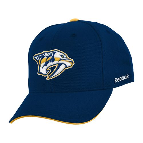 Reebok Boys' Nashville Predators Basic Structure Adjustable Cap