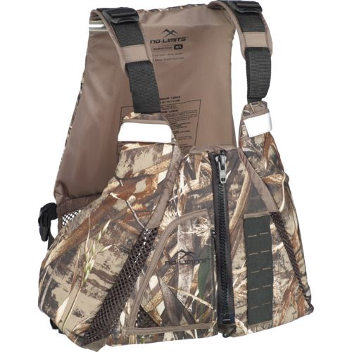 No Limits™ Camo Sabine Paddling Vest - view number 2