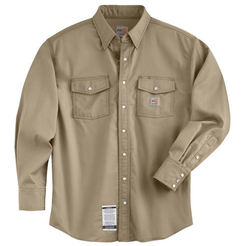 Carhartt Men's Flame Resistant Snap Front Shirt - view number 1