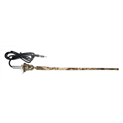 Dual Realtree Max-5® 1.5' Universal Rubber Mast AM/FM Marine Band Antenna