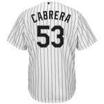 Majestic Men's Chicago White Sox Melky Cabrera #53 Cool Base® Home Jersey