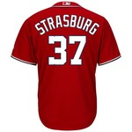 Majestic Men's Washington Nationals Stephen Strasburg #37 Cool Base® Jersey - view number 1