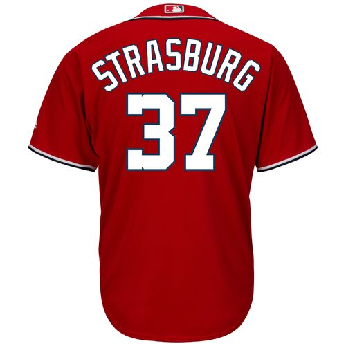 Majestic Men's Washington Nationals Stephen Strasburg #37 Cool Base® Jersey