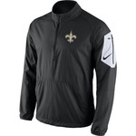 Nike Men's New Orleans Saints Lockdown 1/2 Zip Jacket