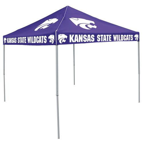 Logo Kansas State University Straight-Leg 9 ft x 9 ft Color Tent